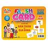 Flash card Theo phương pháp giáo dục sớm của Glenn Doman – Thẻ học thông minh (song ngữ Anh Việt) - Chủ đề: Bản thân và Gia đình
