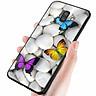 Ốp kính cường lực cho điện thoại Samsung Galaxy J8 - bướm đẹp MS ANH062