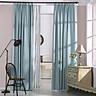 Rèm cửa vải LUCYA18-37 có thanh treo hợp kim nhôm màu vàng đồng đầu nhọn - cao cố định 2m