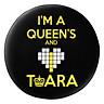 Gối Ôm Tròn I'm A Queen And Love T - Ara - GOKK079