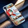 Ốp điện thoại kính cường lực cho máy iPhone XS MAX - giáng sinh đầm ấm MS GSDA001