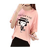 Áo thun nữ a chic T&D màu hồng