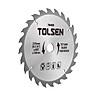 Đĩa Cắt Gỗ Tolsen 76431 - Bạc (185mm x 40 T)