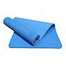 Thảm tập yoga TPE 1 lớp 8mm (Xanh dương ) + Tặng túi đựng thảm và dây buộc thảm