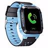 Đồng hồ định vị trẻ em Kidwatch màu xanh dương pha đen màn hình cảm ứng