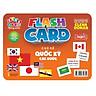 Flash card Theo phương pháp giáo dục sớm của Glenn Doman – Thẻ học thông minh (song ngữ Anh Việt) - Chủ đề: Quốc kỳ các nước