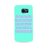 Don't Look Back Case Cover for Samsung Galaxy S6 S7 Edge Note 4 5 iPhone 7 Plus