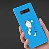 Ốp Lưng Dành Cho Máy  Samsung Note 8  Ốp Dẻo Viền  Đen Cao Cấp In Hình Doremon,Ốp Cao Cấp