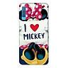Ốp Lưng Dành Cho Điện Thoại Samsung Galaxy A7 2018 I Love Mickey