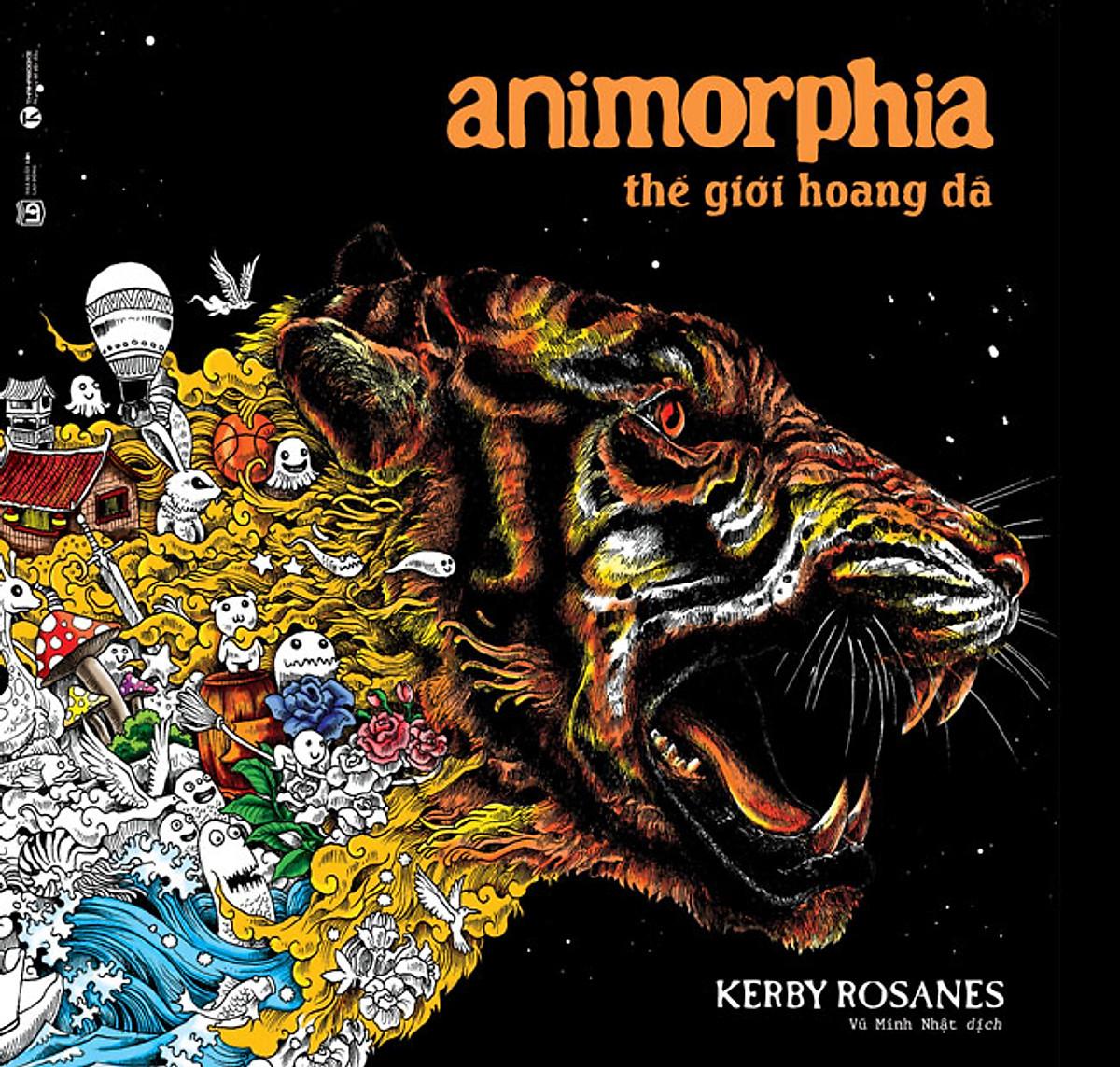 Animorphia - Thế Giới Hoang Dã (Sách Tô Màu Dành Cho Người Lớn) | Tiki