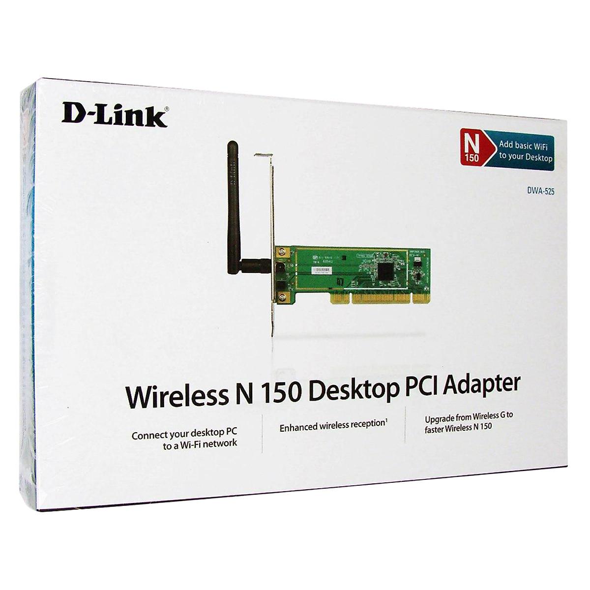 D-Link DWA-525 - Card Mạng Wireless PCI Chính Hãng   Tiki.vn