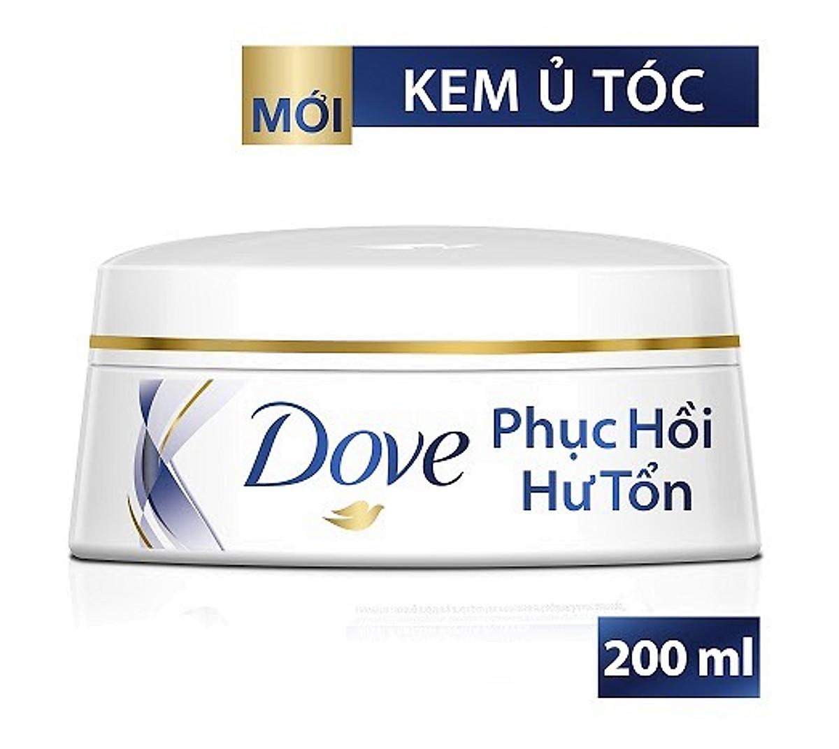 kem ủ tóc Dove