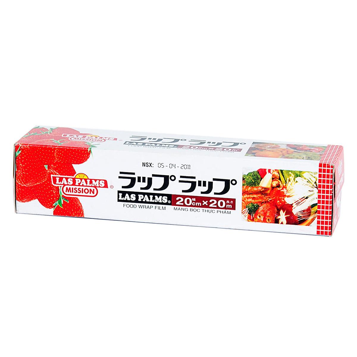 Màng Bọc Thực Phẩm PVC Laspalms MBTP00090023 - 20cmx20m