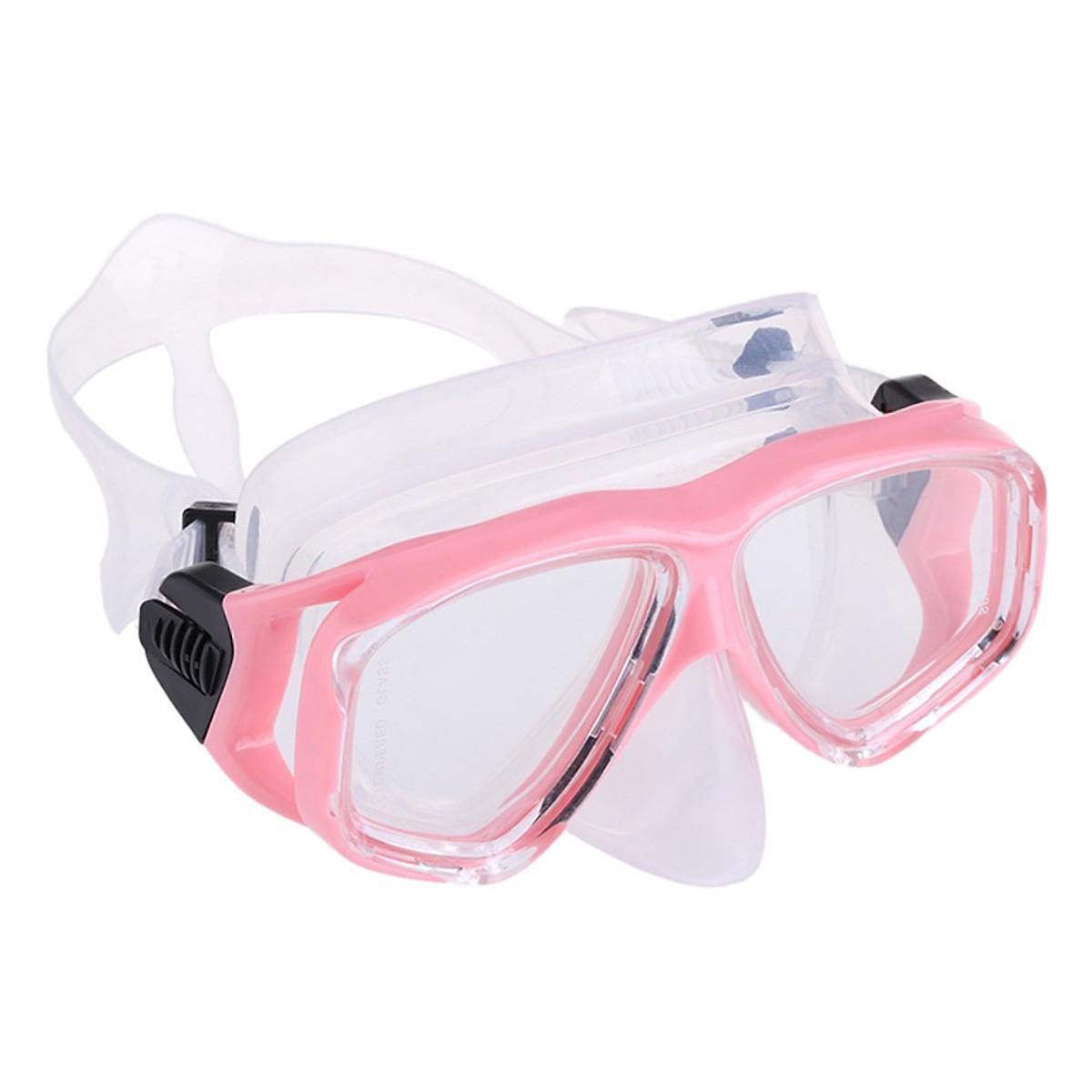 Bộ Kính Lặn Ống Thở Gopro Snorkel-Set-Pink - Hồng - 2