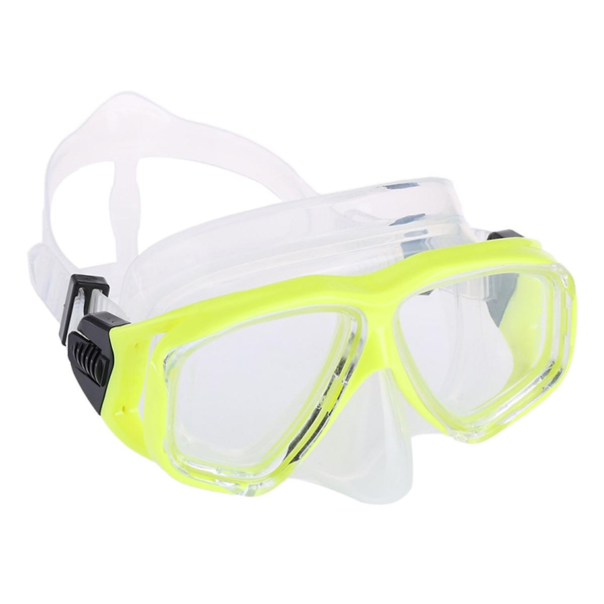 Bộ Kính Lặn Ống Thở Gopro POPO Snorkel-Set-Yellow - Vàng - 1