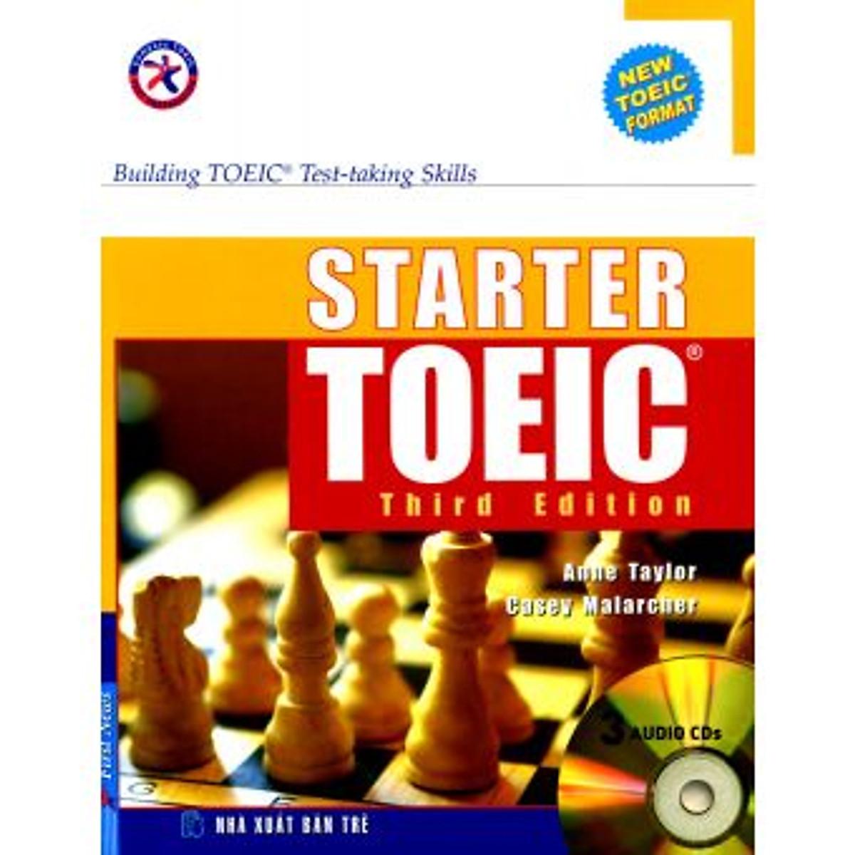Hình đại diện sản phẩm Starter Toeic Third Edition - Kèm 3 CD