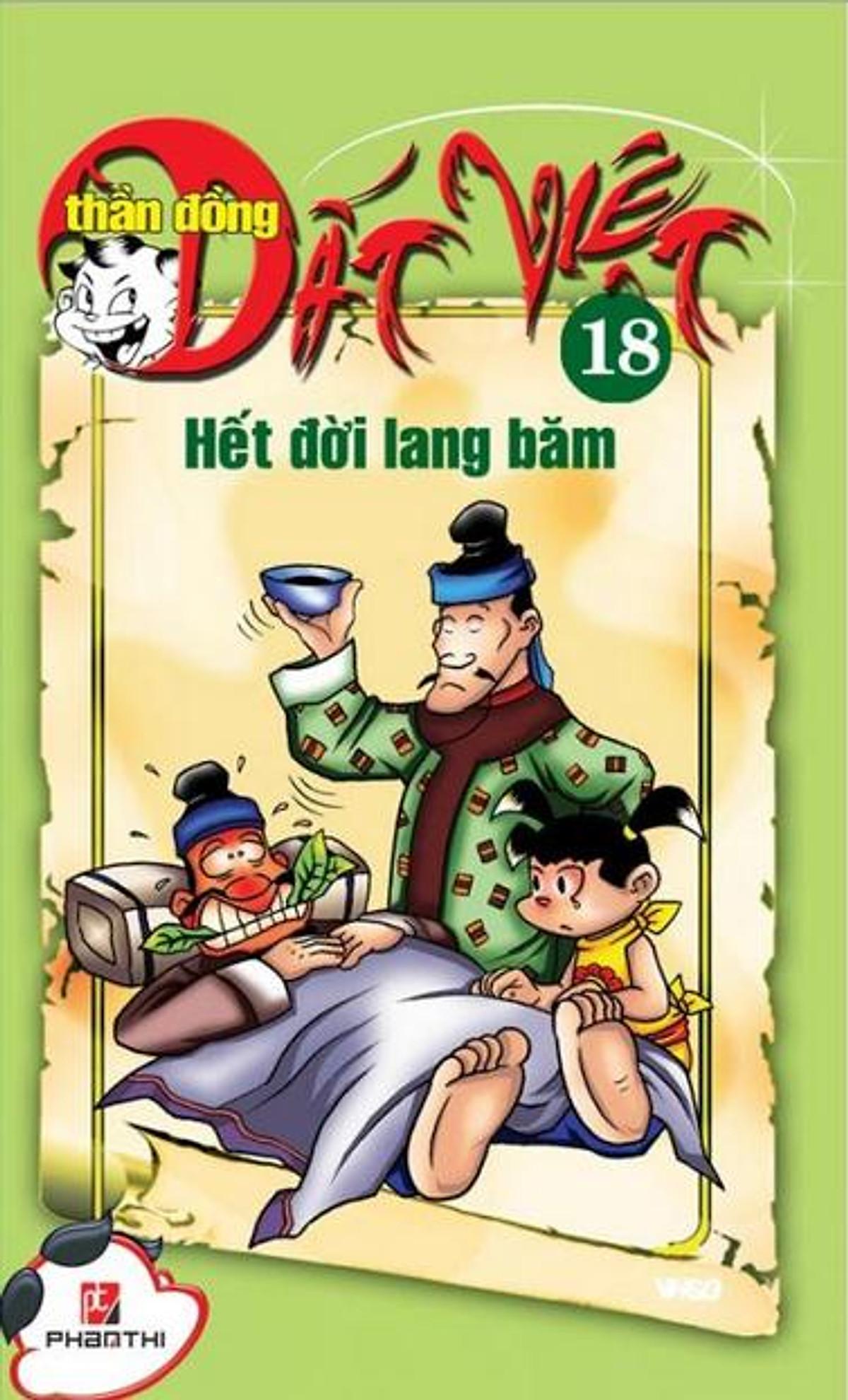 Thần Đồng Đất Việt 18 - Hết Đời Lang Băm Ebook PDF/EPUB/PRC/MOBI