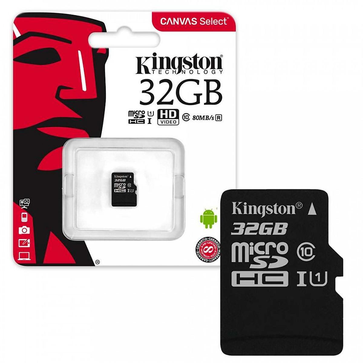 Thẻ Nhớ Micro SD Kingston 32GB SDHC Class 10 Không Adapter - Hàng ...