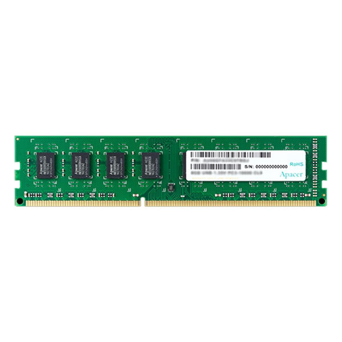 Hình đại diện sản phẩm RAM PC Apacer DDR3L ECC 1600 8GB AE08GF1600BBBJ - Hàng Chính Hãng