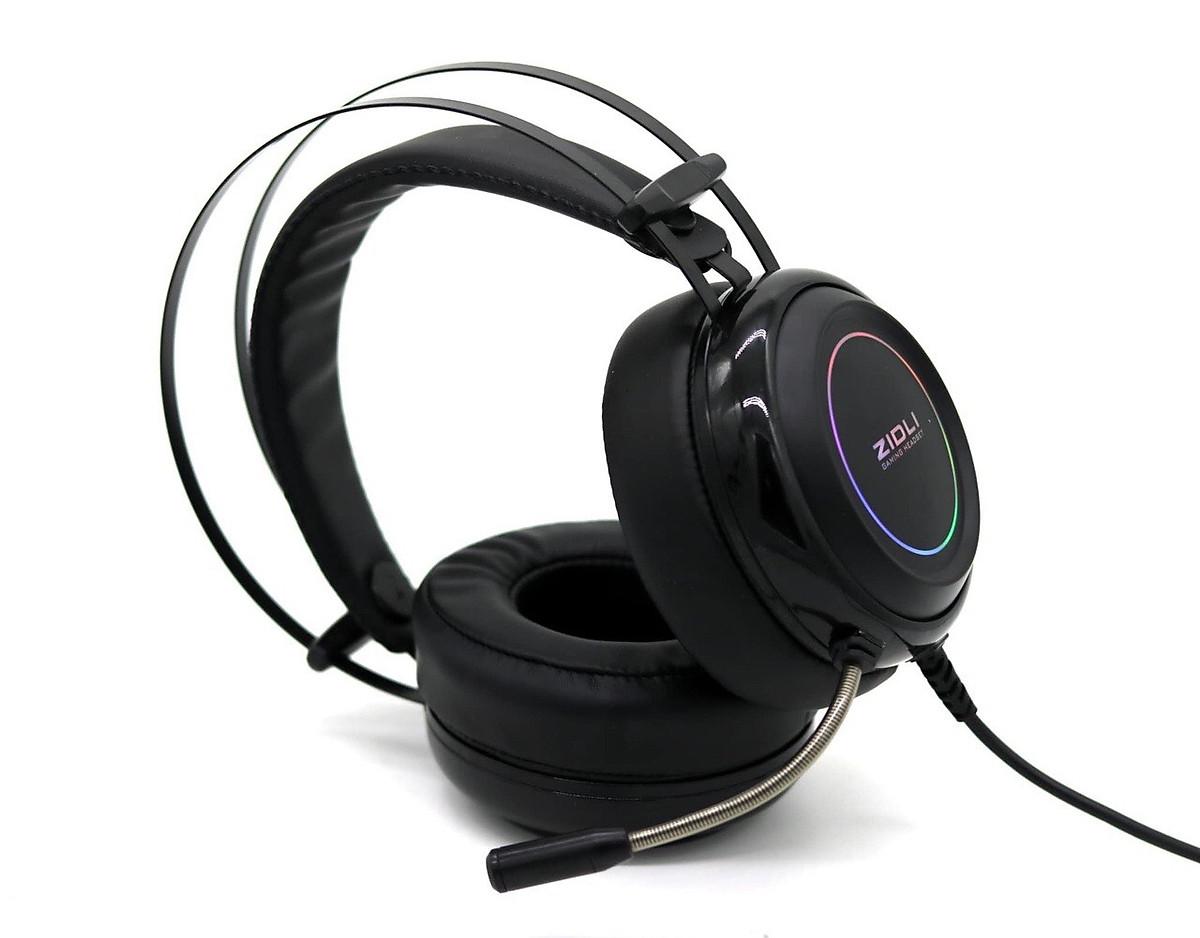 Tai nghe Gaming ZIDLI ZH-7RB (Sound 7.1, Led fix RGB) Black _ Hàng chính  hãng | Tiki.vn
