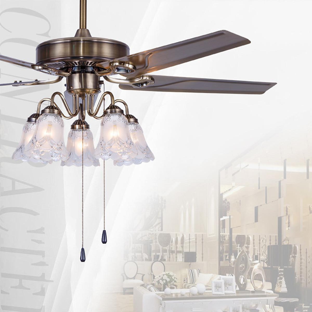Quạt đèn trần phòng khách TOP191 - 1