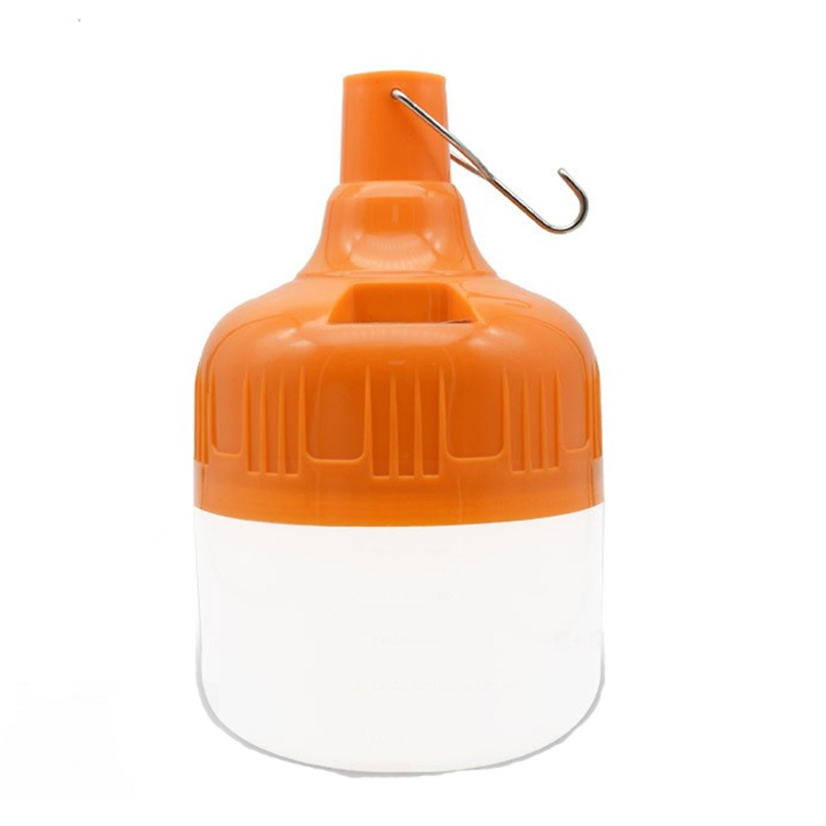 Bóng đèn Led sạc tích điện 100w có móc treo không cần dây điện - Đèn sạc  không dây