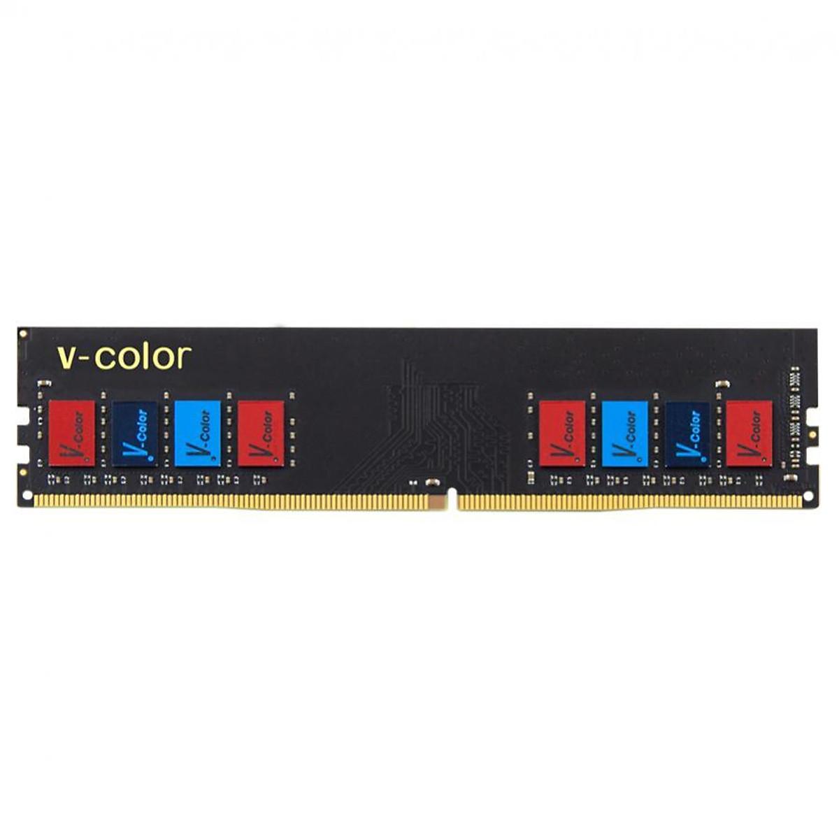 Hình đại diện sản phẩm RAM DDR4 V-Color 8GB/2133MHz Không Tản Nhiệt - Hàng Chính Hãng