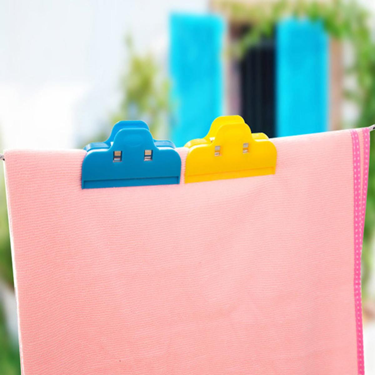 Combo 5 Kẹp miệng túi, kẹp đồ dùng - Màu ngẫu nhiên
