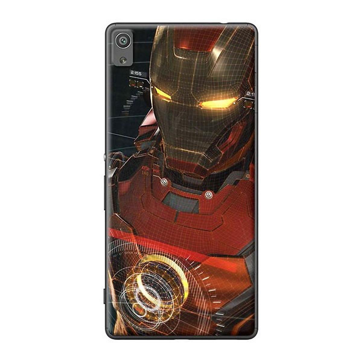 Ốp Lưng Dành Cho Sony Xperia XA Ultra - Ironman Giả Tưởng