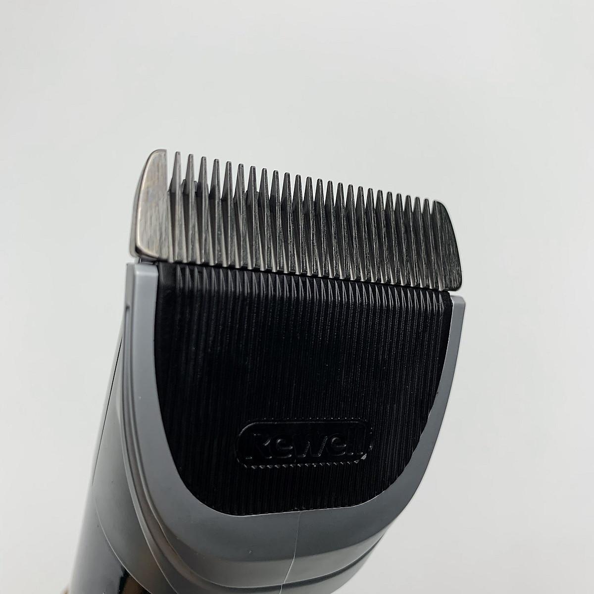 Tông đơ cắt tóc chuyên nghiệp - Tông đơ chạy pin - Tông đơ cắt tóc Rewell S7  pin 2500mAh, lưỡi cắt titanium sắc nét   Vĩnh Khang