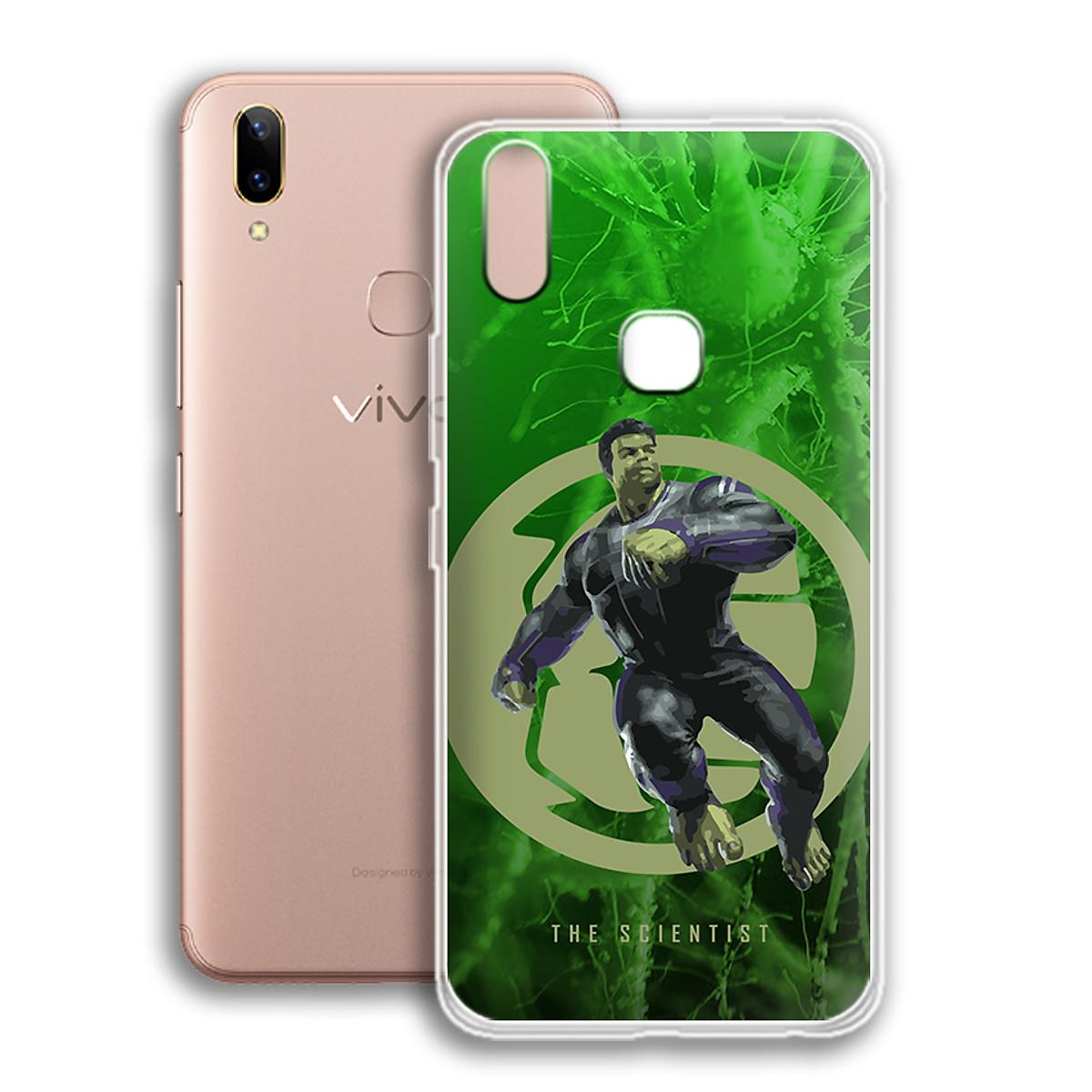 Ốp lưng dẻo cho điện thoại Vivo V9 - Y85 - 01113 0539 SCIENTIST01 - Hàng Chính Hãng