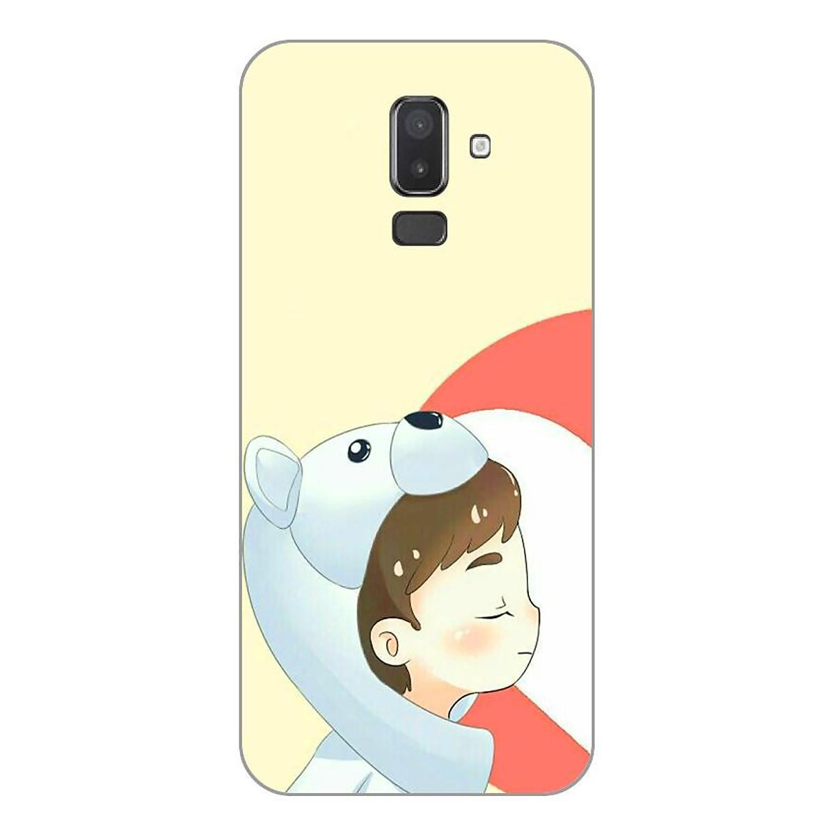 Ốp lưng dẻo cho Samsung Galaxy J8_Couple Boy 07
