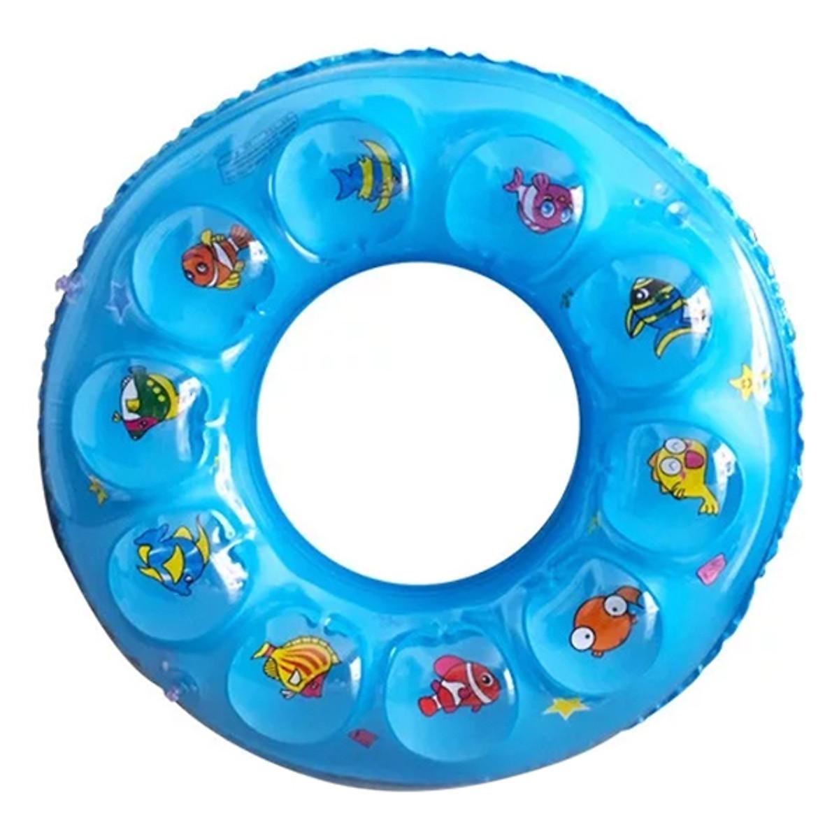 Phao Tròn Tập Bơi Cho Bé 60Cm - Giao Màu Ngẫu Nhiên