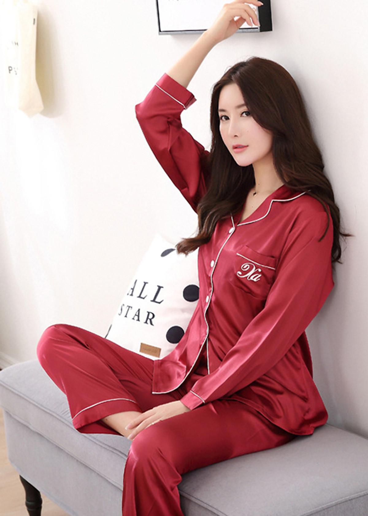 Đồ bộ mặc nhà Nữ chất liệu mềm mại sang chảnh-206 - 2