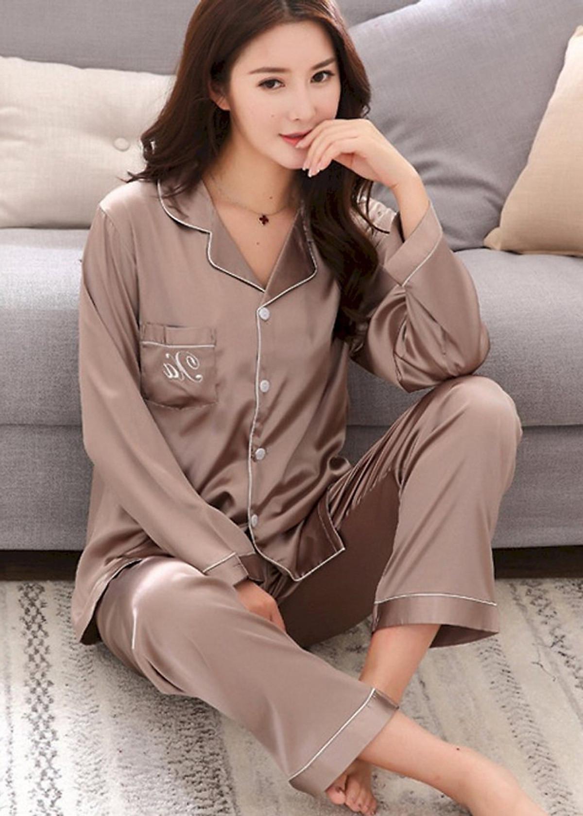 Đồ bộ mặc nhà Nữ chất liệu mềm mại sang chảnh-206 17