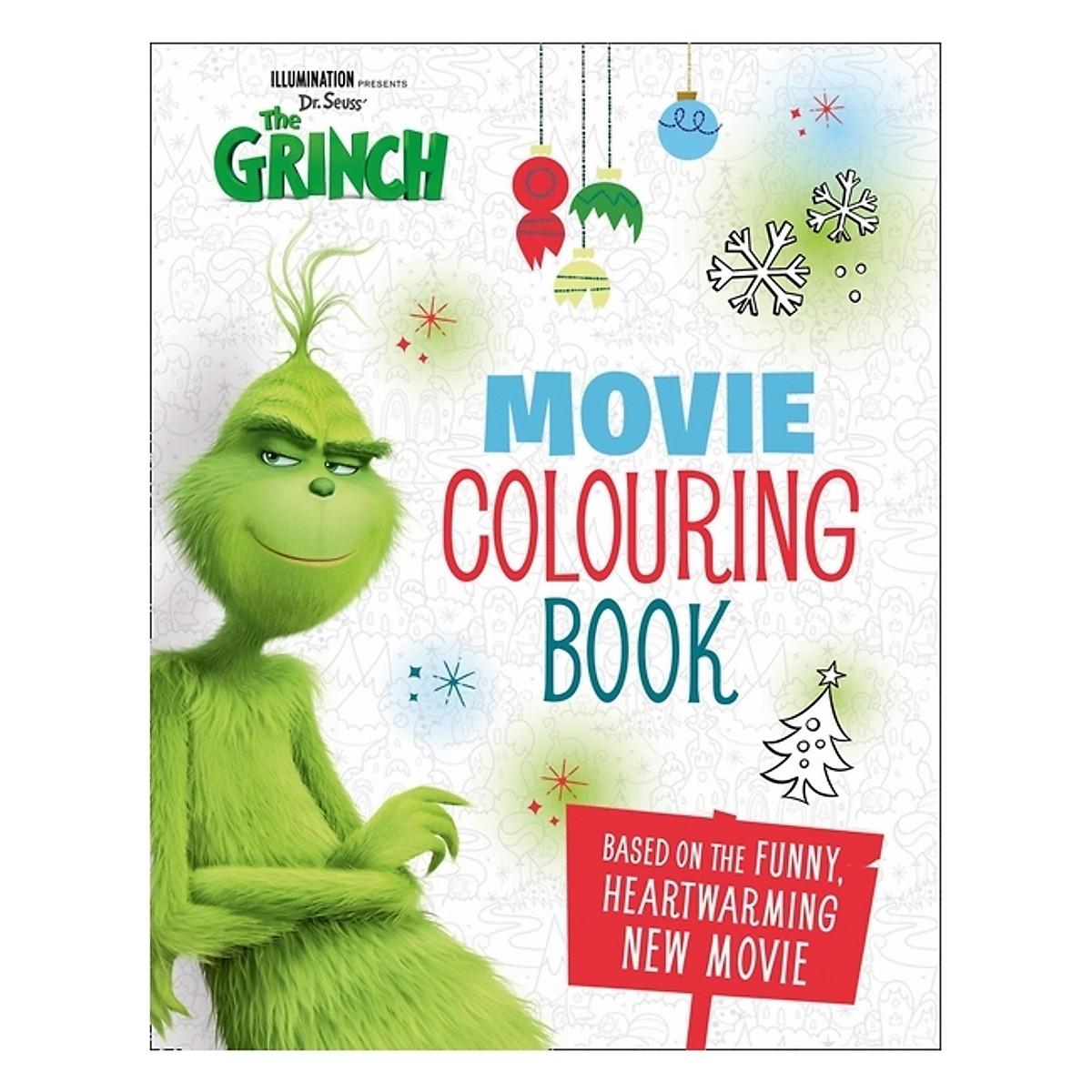 Hình đại diện sản phẩm The Grinch: Movie Colouring Book: Movie Tie-in
