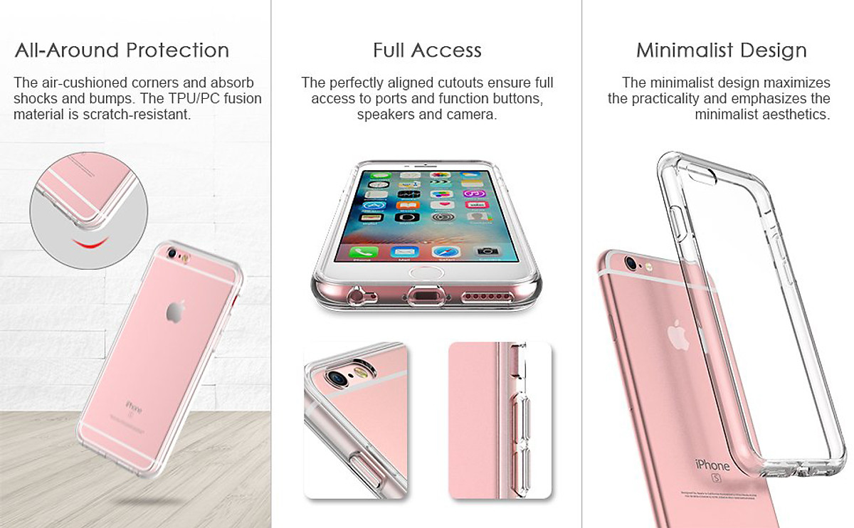 Ốp Lưng Dẻo Dành Cho iPhone 5/iPhone 5S/iPhone 5SE - Trong Suốt