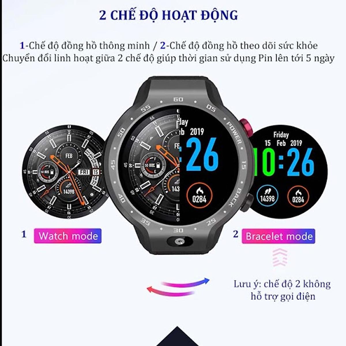 Đồng hồ thông minh gọi điện chống nước Lemfo Lem9 - 6