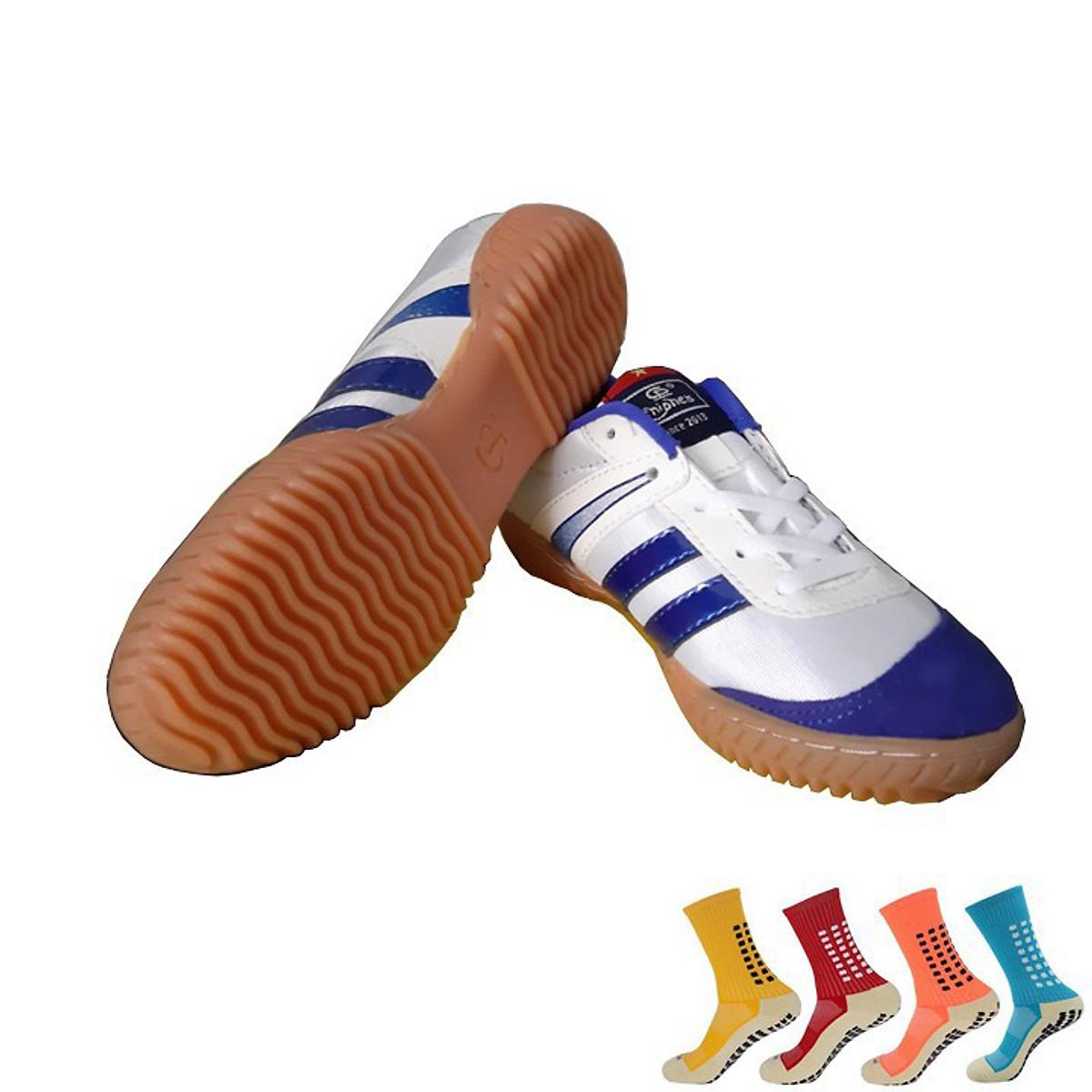 Giày Đá Bóng Futsal Kèm Vớ Chống Trơn Cao Cấp