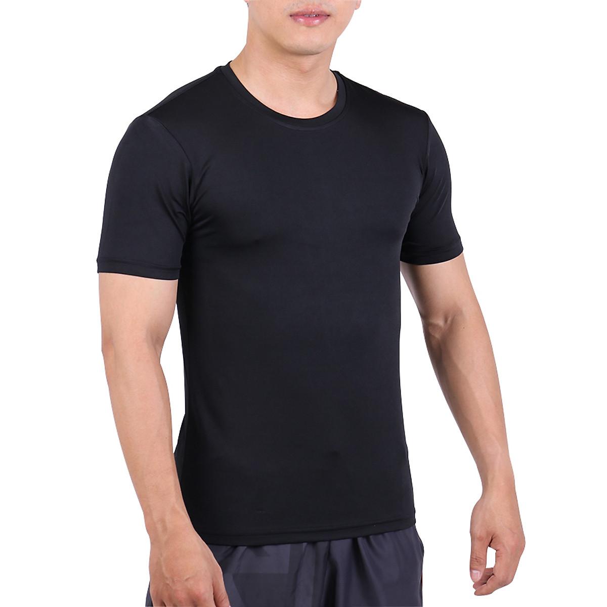 Áo Body Tập Gym Nam Tay Ngắn Unique Apparel ABTND - Đen