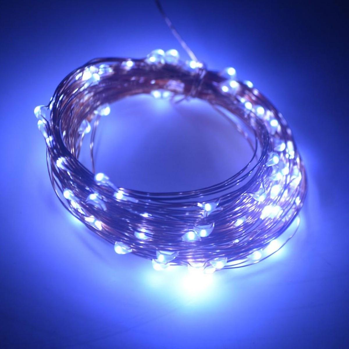 Dây đèn Fairy Light đom đóm chipsbling 10 mét dùng pin AA - 7