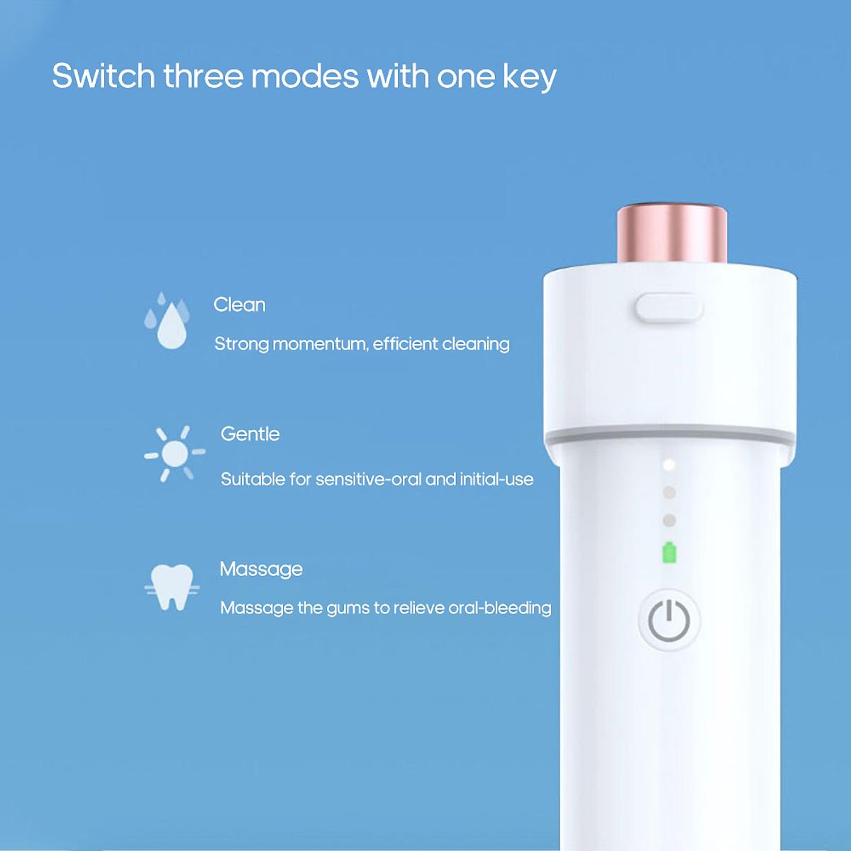 Tăm nước DR.BEI Dụng cụ vệ sinh răng miệng cầm tay F3 Công cụ làm sạch răng nhỏ gọn 180ml 3 cấp độ   Tiki