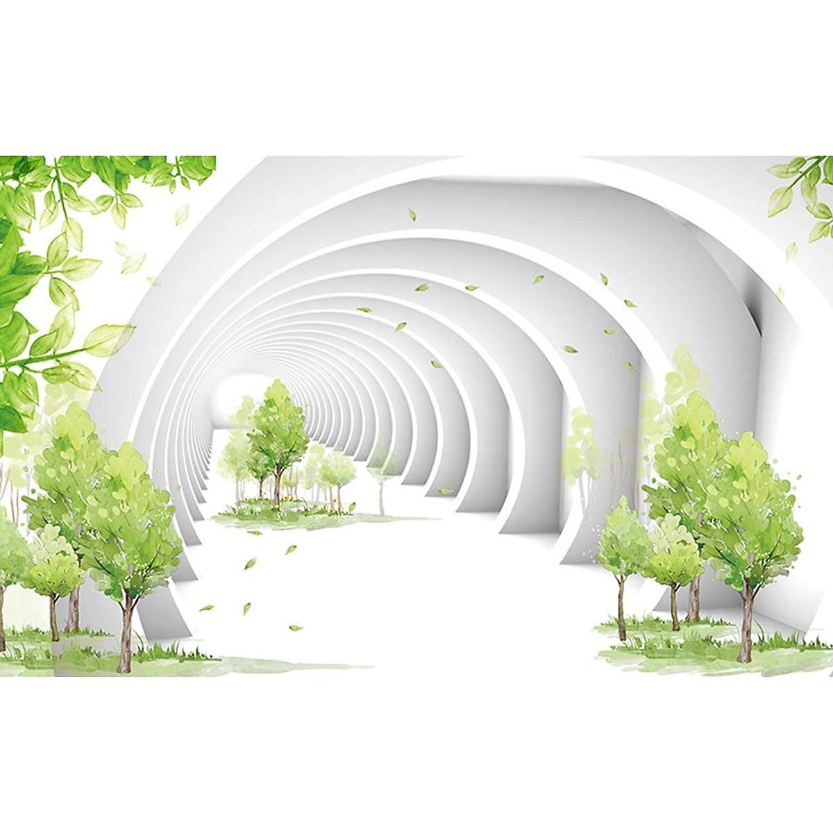 Tranh 3D dán tường | Tranh trang trí nhà cửa | 3D_3DPQ_058 - 1