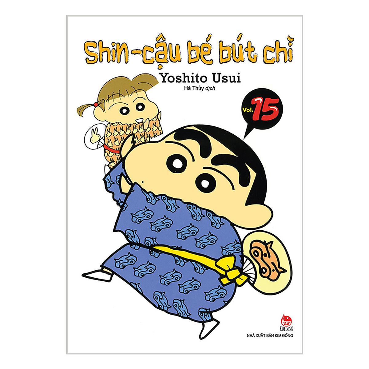 Shin - Cậu Bé Bút Chì Tập 15 Ebook PDF/EPUB/PRC/MOBI