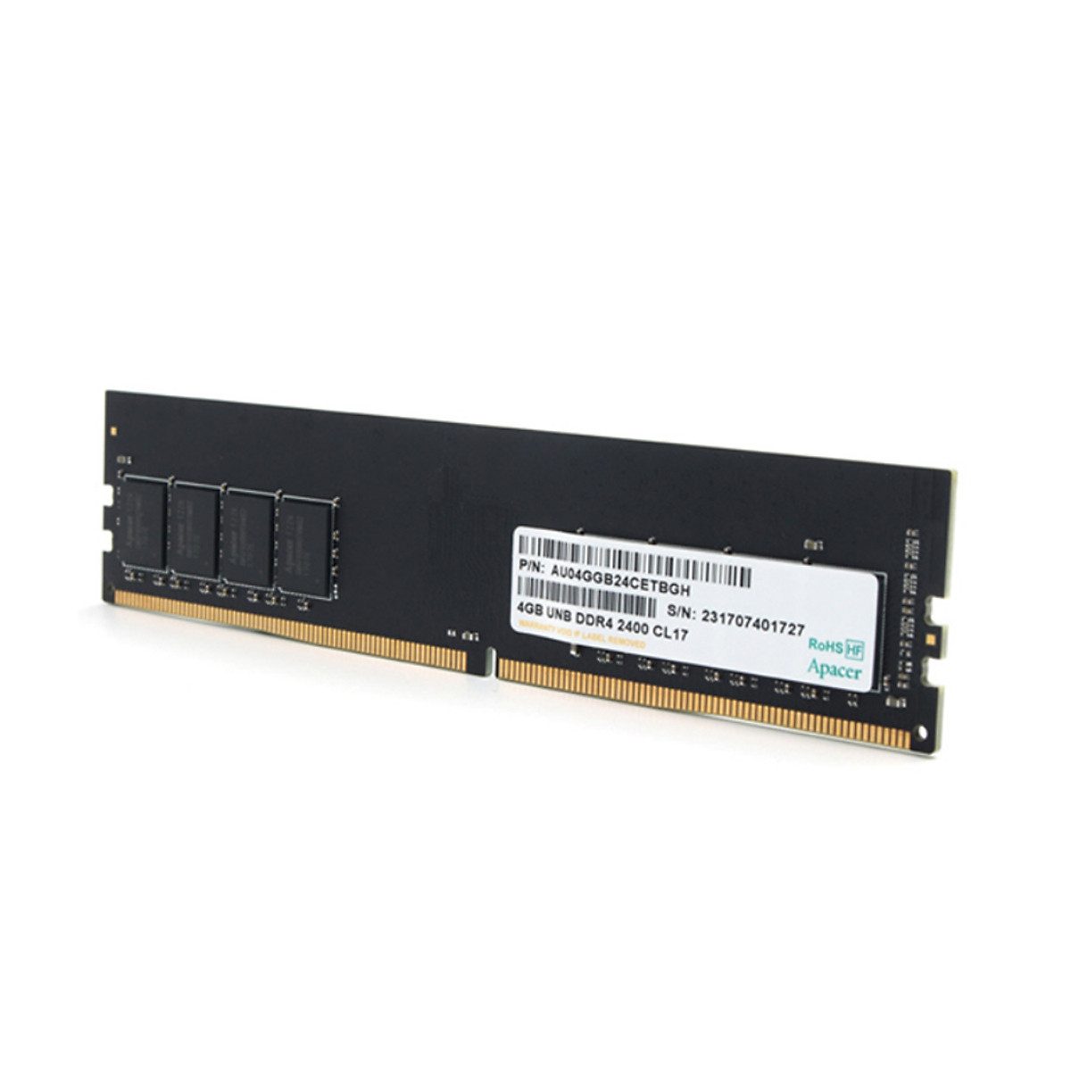 Ram Apacer 4GB DDR4 Bus 2666 EL.04G2V.LNH