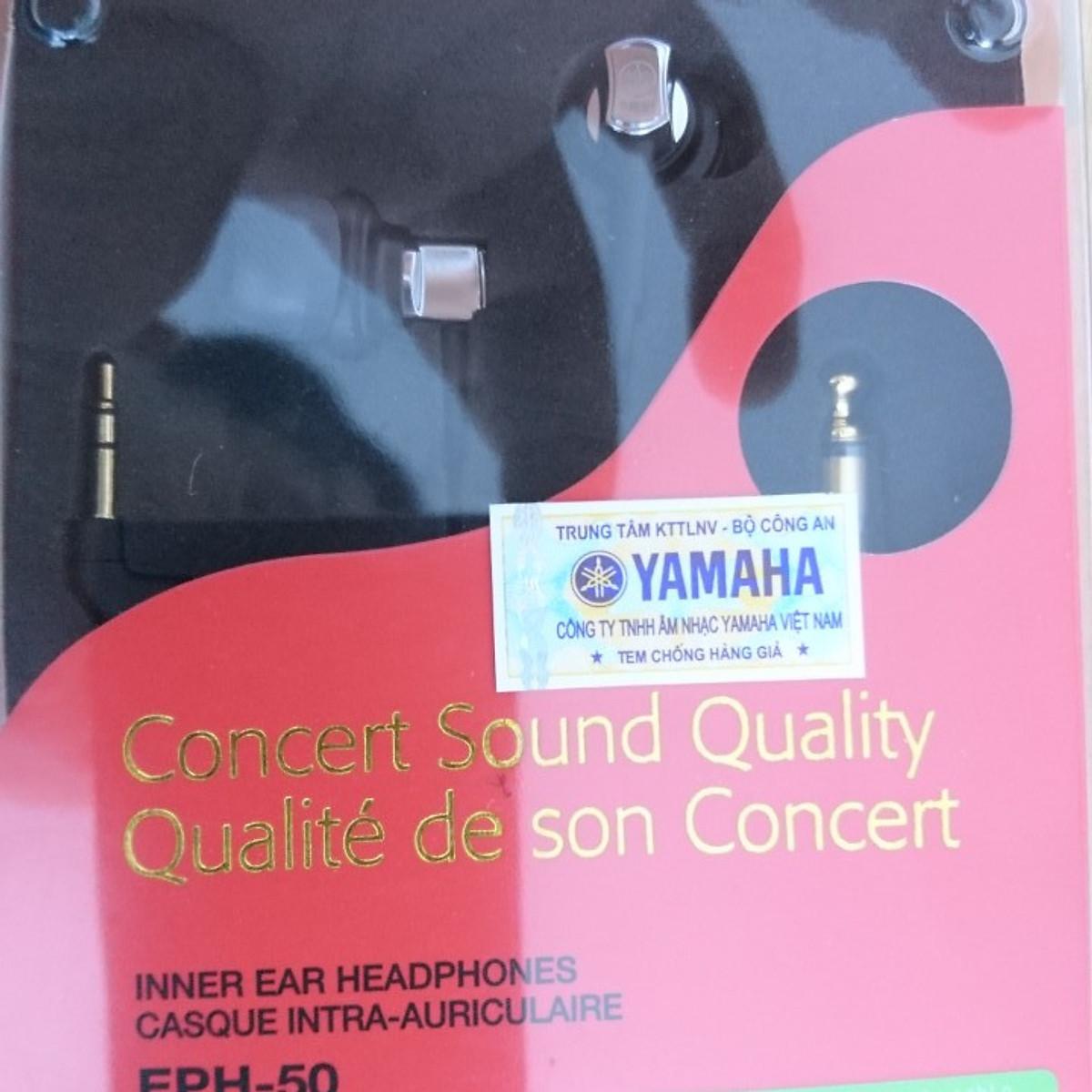 Tai nghe Yamaha EPH-50 màu đen //G