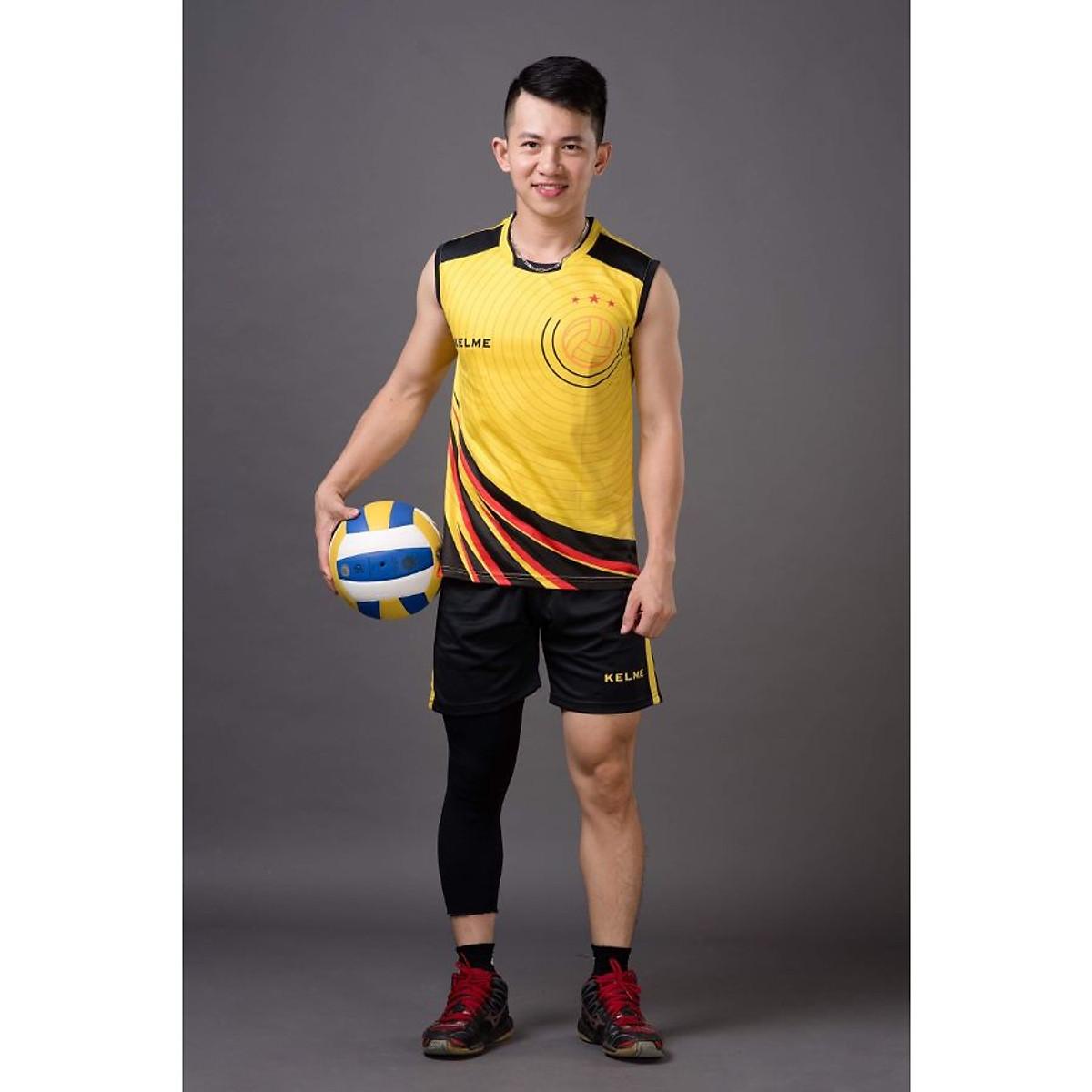 Quần áo bóng chuyền Kelme dành cho nam