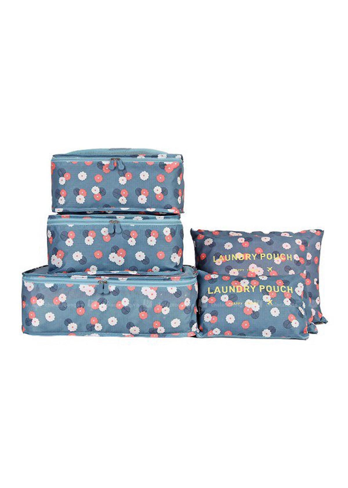 Set 6 túi du lịch đựng đồ chống thấm - 2