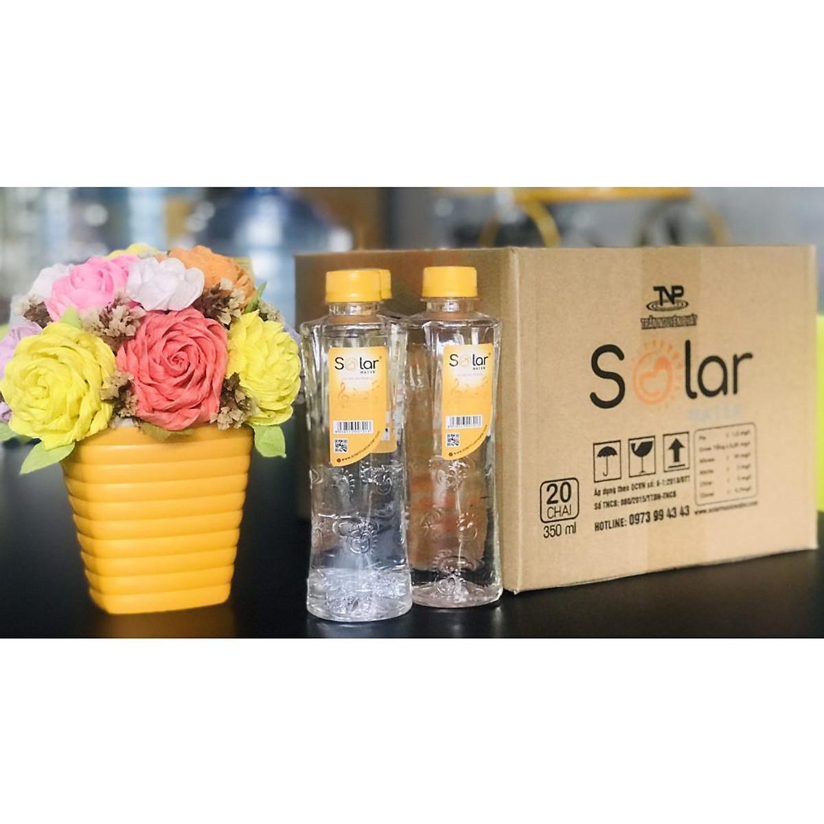 Thùng nước uống Solar thịnh vượng 20 chai 350ml