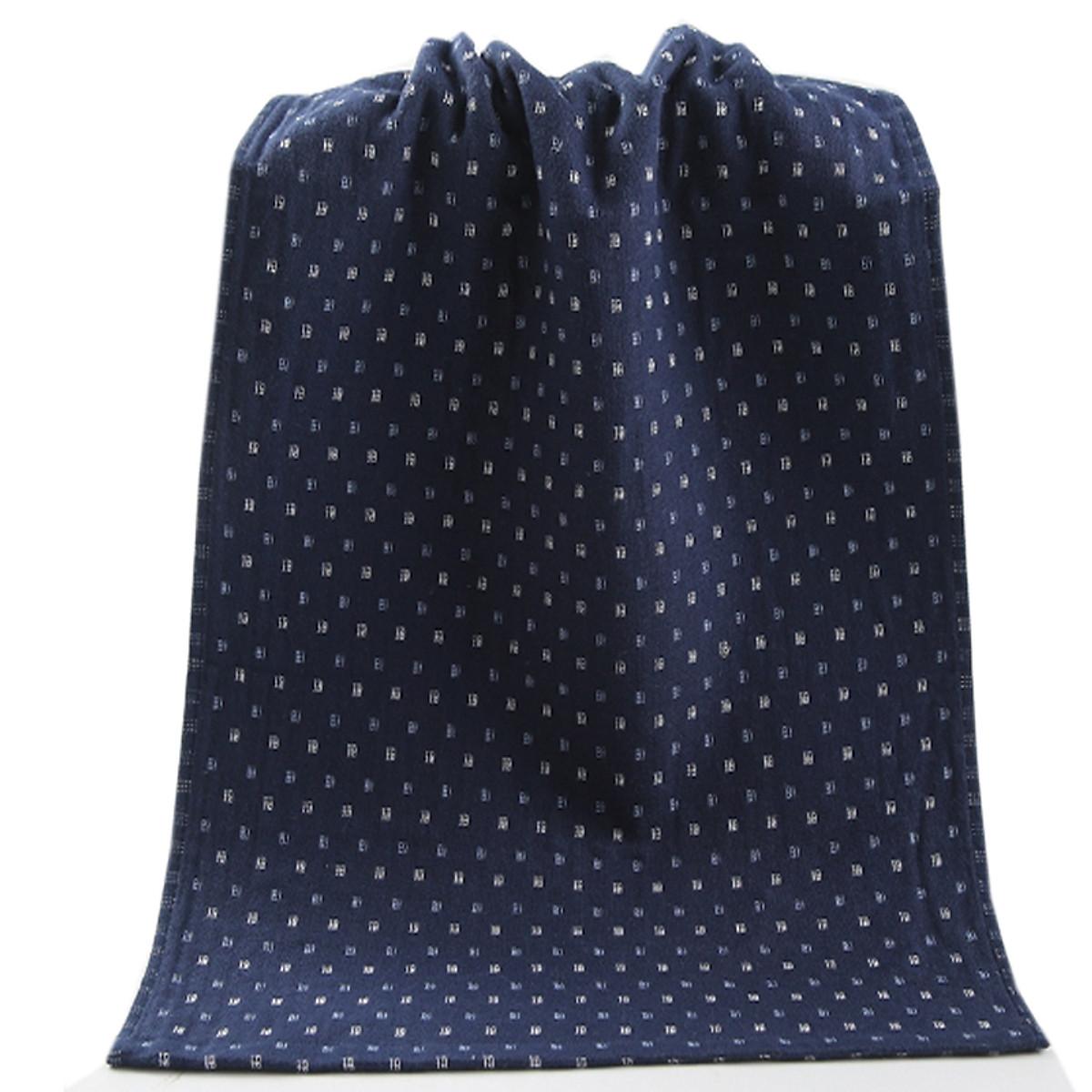 Khăn tắm trung siêu thắm nước bên long,bên vải cotton 34x74cm 100g - 138 12